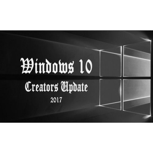 Creators Update - новая версия Windows 10