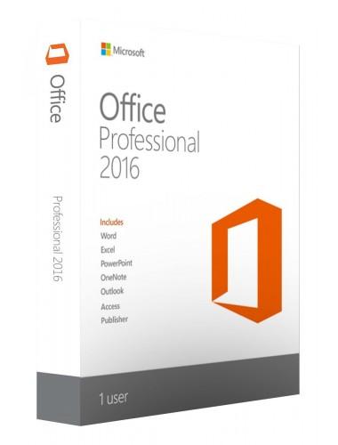 Microsoft Office Professional 2016. Электронная лицензия. Мультиязычная версия