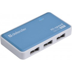 Разветвитель USB Defender Quadro Power